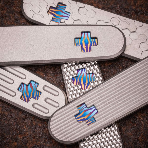 91.3 Cross Inlay DSC® Titanium